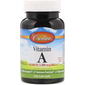 Buy Vitamin A 10 000 IU Natural 250 sGels Carlson Labs Online, UK Delivery, Vitamin A
