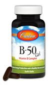 Buy B-50 Gel Vitamin B Complex 200 sGels Carlson Labs Online, UK Delivery, Vitamin B Complex