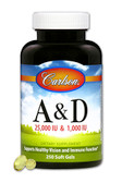 Buy A & D 25 000 IU & 1 000 IU 250 sGels Carlson Labs Online, UK Delivery, Vitamin A D