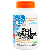 Buy Alpha Lipoic Acid 600 mg 60 vCaps, Doctor's Best, Heart Health ,Natural Remedy, UK