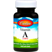 Buy Vitamin A 25 000 IU Natural 100 sGels Carlson Labs Online, UK Delivery, Vitamin A