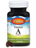 Buy Vitamin A 25 000 IU 250sGels Carlson Labs Online, UK Delivery, Vitamin A
