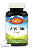 Buy L-Arginine 675 mg 90 Caps Carlson Labs Online, UK Delivery, Amino Acid