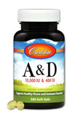 Buy A & D 10 000 IU & 400 IU 300 sGels Carlson Labs Online, UK Delivery, Vitamin A D