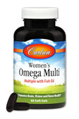 Buy Right 1 Daily Multiple with Fish Oil 60 sGels Carlson Labs Online, UK Delivery, Multivitamins