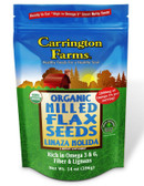Buy Organic Milled Flax Seeds 14 oz (396 g) Carrington Farms Online, UK Delivery, Gluten Free
