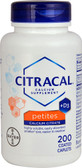 Buy Calcium Supplement +D3 Petites 200 Coated Caplets Citracal Online, UK Delivery, Mineral Supplements