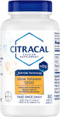 UK Buy Calcium Slow Release, 1200 + D3, 80 Tabs, Citracal
