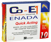 Buy The Energizing Co-Enzyme Performance 10 mg 30 Lozenges Co - E1 Online, UK Delivery, Enada Stress Support Remedy Relief