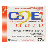 Buy The Energizing Co-enzyme Mojo 20 mg 30 Lozenges Co - E1 Online, UK Delivery, Enada Stress Support Remedy Relief