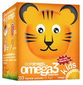 Buy Kids Omega3 Orange 30 Squeeze Packets 2.5 g Each Coromega Online, UK Delivery, EFA Omega EPA DHA