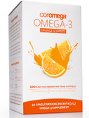 Buy Omega-3 Orange Squeeze 90 Packets 2.5 g Each Coromega Online, UK Delivery, EFA Omega EPA DHA