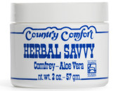 Buy Herbal Savvy Comfrey- Aloe Vera 2 oz (57 g) Country Comfort Online, UK Delivery, Diaper Creams