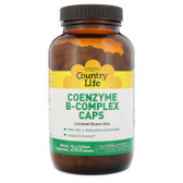 Buy Coenzyme B-Complex Caps 240 Veggie Caps Country Life Online, UK Delivery, Vitamin B Complex