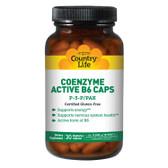 Buy Coenzyme Active B6 Caps P-5-P/PAK 30 Veggie Caps Country Life Online, UK Delivery, Coenzymate B Vitamins