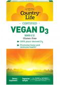 Buy Vegan D3 5000 IU 60 Vegan sGels Country Life Online, UK Delivery, Vitamin D3 Vegan Vegetarian