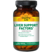 Buy UK Liver Support Factors 100 Tabs Country Life Online, UK Delivery, Liver Support