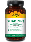 Buy Vitamin D3 5 000 IU 200sGels Country Life Online, UK Delivery, Vitamin D3