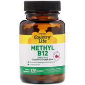 Buy Superior B12 Berry Flavor 3000 mcg 120 Sublingual Lozenges Country Life Online, UK Delivery, Vitamin B12