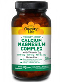Buy Target-Mins Calcium Magnesium Complex with Vitamin D3 90 Tabs Country Life Online, UK Delivery, Mineral Supplements