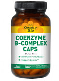 Buy Coenzyme B-Complex Advanced 60 Veggie Caps Country Life Online, UK Delivery, Vitamin Coenzymated B Complex