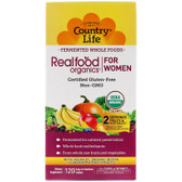 Buy RealFood Organics Women's Daily Nutrition 120 Tabs Country Life Online, UK Delivery, Multivitamins