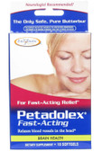 Petadolex Fast-Acting 10 Softgels, Enzymatic Therapy, Migraines, Natural Remedy, UK