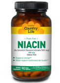 Buy Niacin Flush-Free 400 mg 90 Vegan Caps Country Life Online, UK Delivery, Vitamin B3 Niacin Vegan Vegetarian