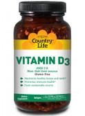 Buy Vitamin D3 2500 I.U. 200 sGels Country Life Online, UK Delivery, Vitamin D3