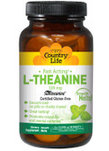 Buy L-Theanine 100 mg 60 Smooth Melts Country Life Online, UK Delivery,