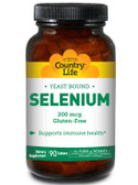 Buy Selenium 200 mcg 90 Tabs Country Life Online, UK Delivery, Antioxidant