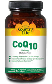 Buy CoQ10 100 mg 60 Vegan sGels Country Life Online, UK Delivery, Coenzyme Q10