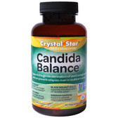 Buy Candida Detox 60 Veggie Caps Crystal Star Online, UK Delivery