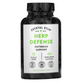 Buy Herp Defense 60 Veggie Caps Crystal Star Online, UK Delivery, Herpes Treatment Remedy Removal