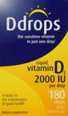 Buy Liquid Vitamin D3 2000 IU 0.17 oz (5 ml) D Drops