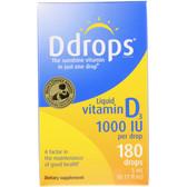 Buy Liquid Vitamin D3 1000 IU 0.17 oz (5 ml) D Drops Online, UK Delivery
