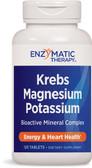 Krebs Magnesium-Potassium Chelates 120 Tabs, Enzymatic, Heart Health