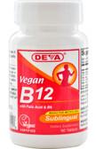 Buy Vegan B12 Sublingual 90 Tabs Deva Online, UK Delivery, Vegan Vegetarian Vitamin B12 Methylcobalamin