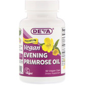 Buy Premium Vegan Evening Primrose Oil 90 Vegan Caps Deva Online, UK Delivery, EFA Omega EPA DHA