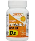Buy Vitamin D Vegan 800 IU 90 Tabs Deva Online, UK Delivery, Vitamin D 2 Ergocalciferol Vegan Vegetarian