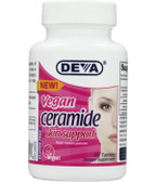Buy Vegan Ceramide Skin Support 60 Tabs Deva Online, UK Delivery, Skin Supplements Topical Treatments