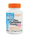 Buy PepZin Gl Zinc-L-Carnosine Complex 120 Veggie Caps Doctor's Best Online, UK Delivery, Ulcer Treatment Formulas