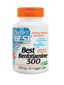 Buy Best Benfotiamine 300 mg 60 Veggie Caps Doctor's Best Online, UK Delivery, Benfotiamine Vitamin B