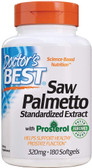 Buy Euromed Best Saw Palmetto Standardized Extract 320 mg 180 sGels Doctor's Best Online, UK Delivery, Men's Supplements