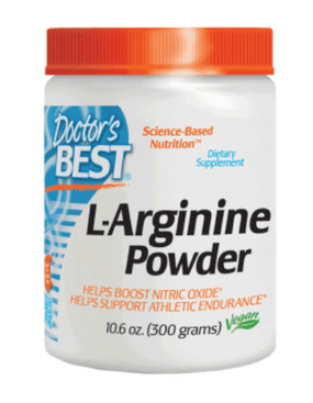 Buy L-Arginine Powder 10.6 oz (300 g) Doctor's Best Online, UK Delivery, Amino Acid
