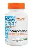 Buy Best Serrapeptase 270 Veggie Caps Doctor's Best Online, UK Delivery, Enzymes Serrapeptase