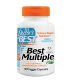 Buy Best Multiple Fully Optimized Vitamin-Mineral Complex 90 Veggie Caps Doctor's Best Online, UK Delivery, Vegan Vegetarian