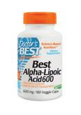 Buy Best Alpha-Lipoic Acid 600 mg 180 Veggie Caps Doctor's Best Online, UK Delivery, Antioxidant ALA