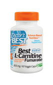 Buy Best L-Carnitine Fumarate 855 mg 60 Veggie Caps Doctor's Best Online, UK Delivery, Amino Acid