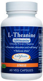 L-Theanine 100 mg 60 Caps Enzymatic Suntheanine, Stress & Relaxation